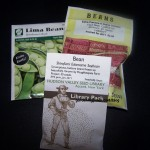 bean seed packets