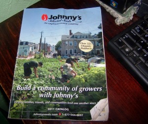 johnnys seeds 2011 catalog