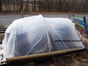 building a hoop house
