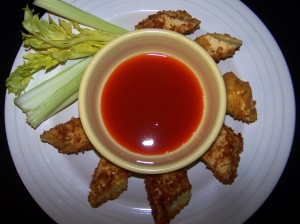 tofu with hot sauce