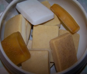 homemade bar soap