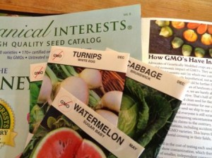 Botanical Interests, Baker Creek, and the Seeds of the Month Club share the fact they don't sell GMO seeds.