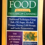 Gardening Jones shares a new favorite book she found that features very old food preservation methods.