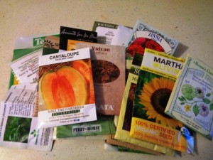 Gardening Jones shares links to more than 30 seed companies she has purchased from.