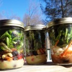 Gardening Jones shares the basic steps to making a salad in a jar.