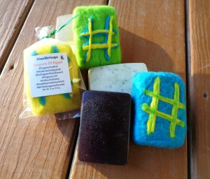 Fun meets functional with Gardening Jones' unique #SmelfieSoaps.