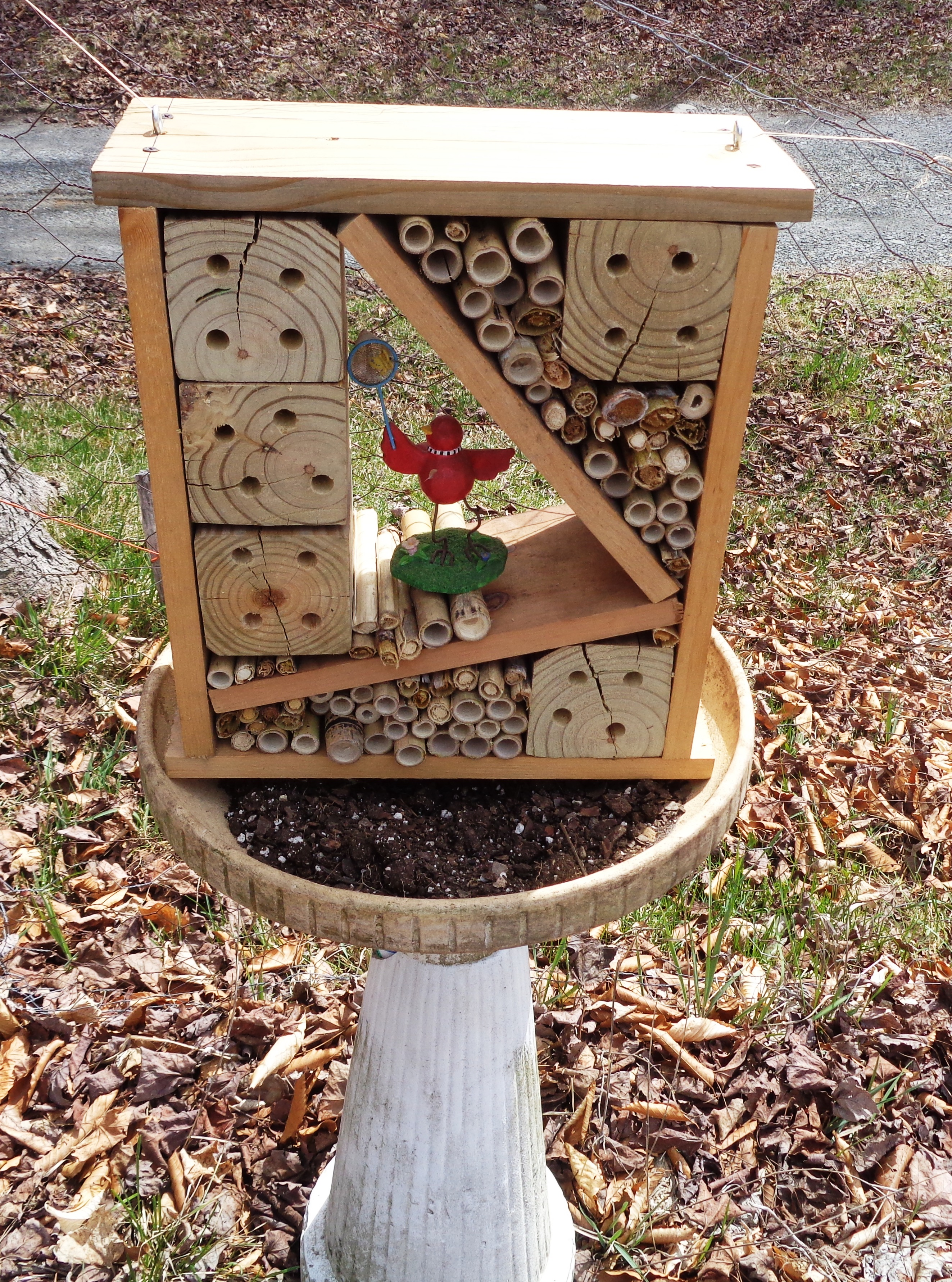 How to make a mason bee house gardening jones for Help building a house