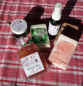 Gardening Jones shares some great buys on Bath and Body inspired lotions, as well as homemade products.